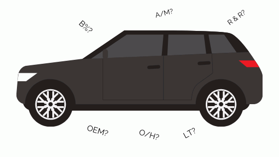 how to read your body shop estimate