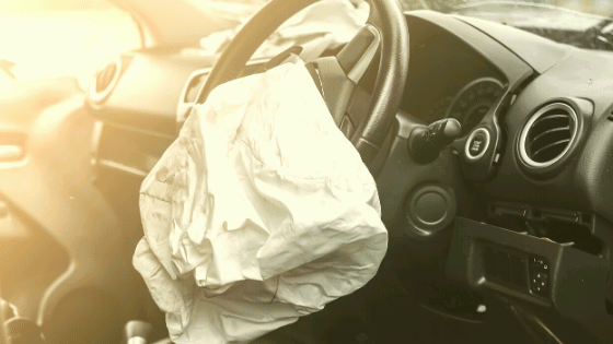 when airbags deploy is the car totaled